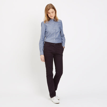 Women's Chinos Navy