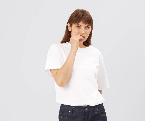 Women's Classic T-Shirt White - Community Clothing