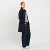 Women's Raincoat Navy - Community Clothing