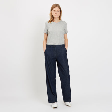 Women's Work Trouser Indigo