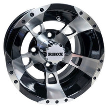 "10"" RHOX Machined, w/Black / Kenda Terra Trac, 18x8.5x10"