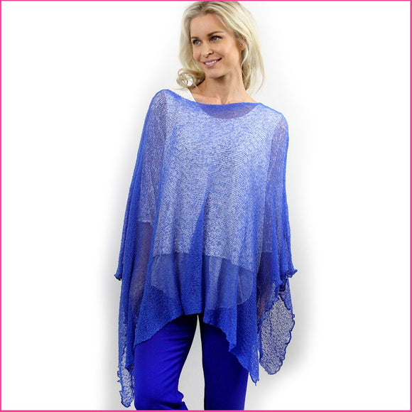 Neuleponcho Royal Blue