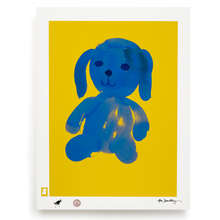 Load image into Gallery viewer, BLUNDLUND.CO.,LTD FINE ART PRINT - LIV YELLOW BLUE / LIMITED EDITION OF 250