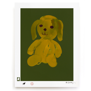 BLUNDLUND.CO.,LTD FINE ART PRINT - LIV GREEN GREEN / LIMITED EDITION OF 250