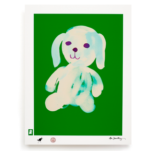 BLUNDLUND.CO.,LTD FINE ART PRINT - LIV WHITE GREEN / LIMITED EDITION OF 250