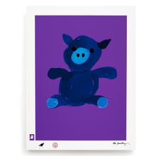 Load image into Gallery viewer, BLUNDLUND.CO.,LTD FINE ART PRINT - LYCKA BLUE LILAC / LIMITED EDITION OF 250