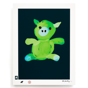 BLUNDLUND.CO.,LTD FINE ART PRINT - LYCKA GREEN GREEN / LIMITED EDITION OF 250