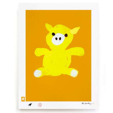 BLUNDLUND.CO.,LTD FINE ART PRINT - LYCKA YELLOW YELLOW / LIMITED EDITION OF 250