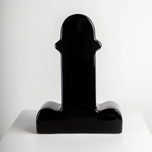Load image into Gallery viewer, ETTORE SOTTSASS SHIVA VASE - BLACK LTD / BD BARCELONA DESIGN