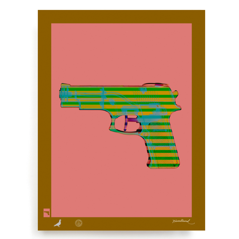 BLUNDLUND.CO.,LTD FINE ART PRINT - COLT45 / LIMITED EDITION