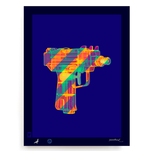 BLUNDLUND.CO.,LTD FINE ART PRINT - MAC10 / LIMITED EDITION