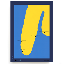 Load image into Gallery viewer, BLUNDLUND.CO.,LTD FINE ART PRINT - FOSTERLANDET / LIMITED EDITION OF 100