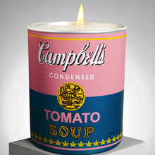 "ANDY WARHOL ""CAMPBELL"" / ARTISANAL SCENTED CANDLE"