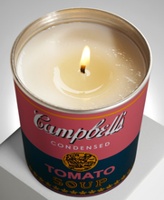 "Load image into Gallery viewer, ANDY WARHOL ""CAMPBELL"" / ARTISANAL SCENTED CANDLE"