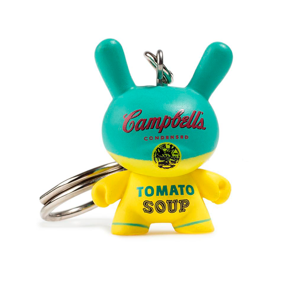 ANDY WARLHOL DUNNY KEYCHAIN SERIES  / KIDROBOT