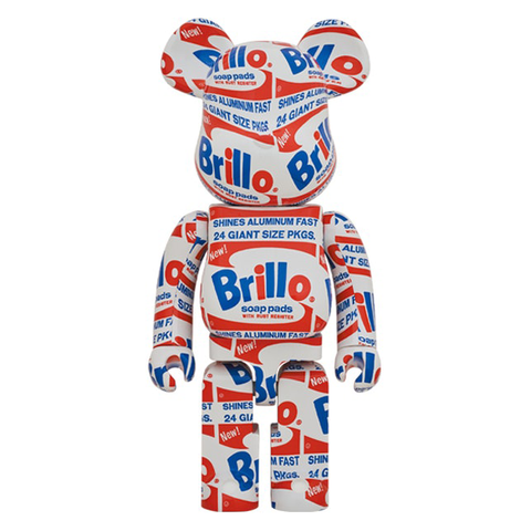 BRILLO / BE@RBRICK 1000% - ANDY WARHOL / MEDICOM TOY