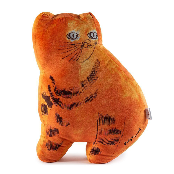 ANDY WARLHOL - ORANGE SAM THE CAT PLUSH  / KIDROBOT