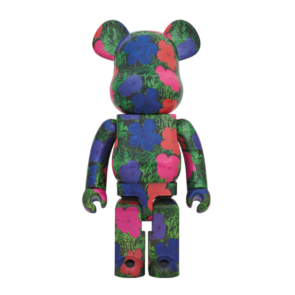 FLOWERS / BE@RBRICK 1000% - ANDY WARHOL / MEDICOM TOY