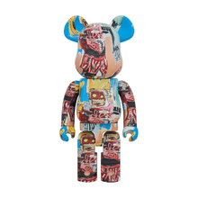 Load image into Gallery viewer, JEAN-MICHEL BASQUIAT #6 X BE@RBRICK 1000% BY MEDICOM TOY