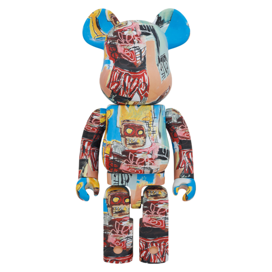 JEAN-MICHEL BASQUIAT #6 X BE@RBRICK 1000% BY MEDICOM TOY
