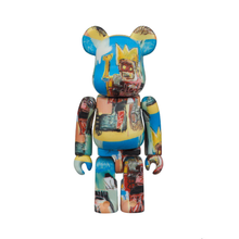 Load image into Gallery viewer, JEAN-MICHEL BASQUIAT #6 X BE@RBRICK SET 400/100% BY MEDICOM TOY