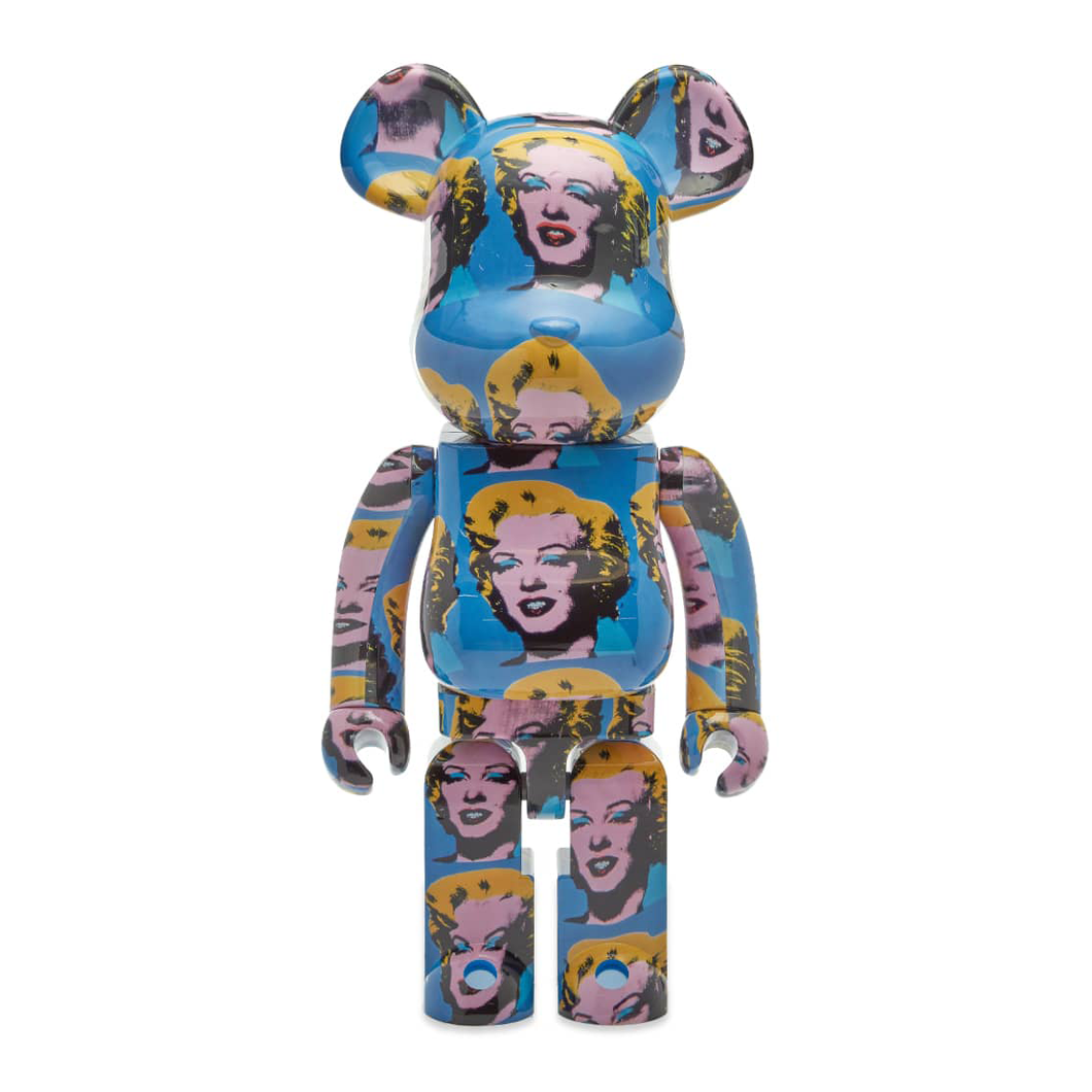 BE@RBRICK 1000% X ANDY WARHOL - MARILYN MONROE / MEDICOM TOY +