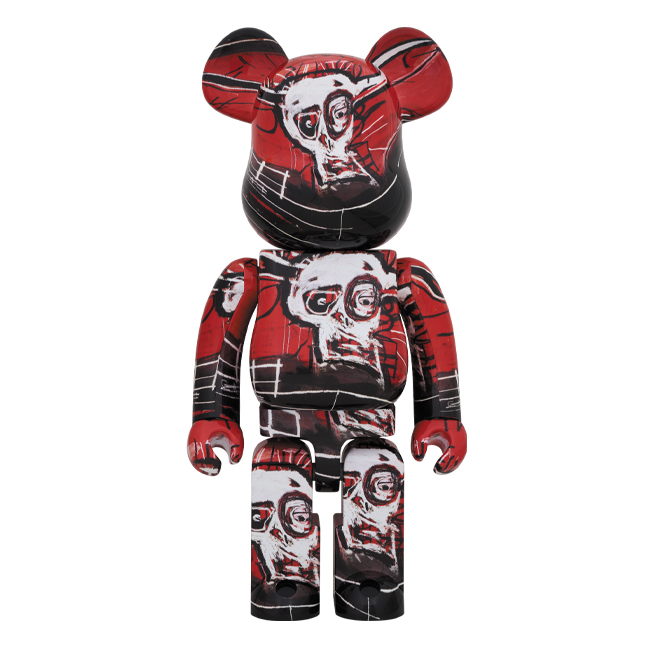 JEAN-MICHEL BASQUIAT #5 X BE@RBRICK 1000% BY MEDICOM TOY