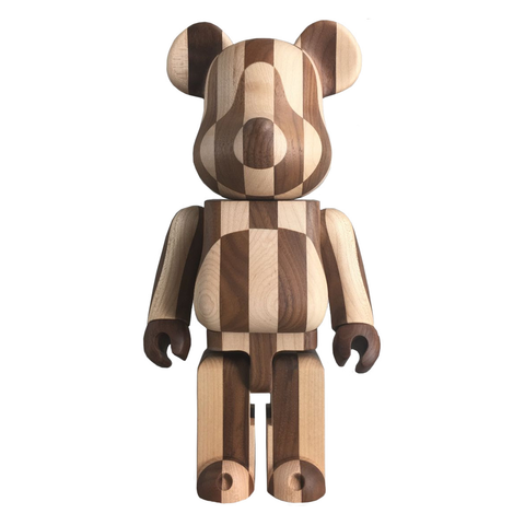 BEARBRICK KARIMOKU 400% - LONGITUDINAL CHESS / MEDICOM + EXCLUSIVE