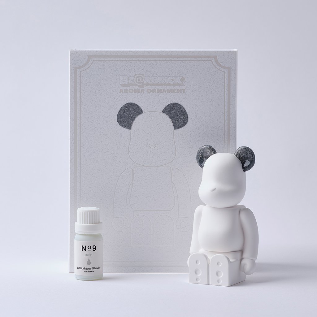 BE@RBRICK AROMA ORNAMENT No.9 / GALAXY SILVER