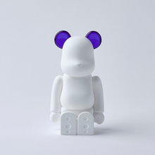 Load image into Gallery viewer, bearbrick_aroma_ornament_purple-bibliothèque_blanche-ballon-eye_shut_island-01432