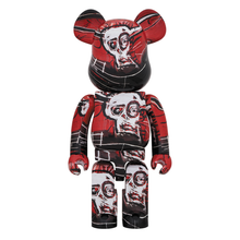 Load image into Gallery viewer, JEAN-MICHEL BASQUIAT #5 X BE@RBRICK SET 100/400% BY MEDICOM TOY