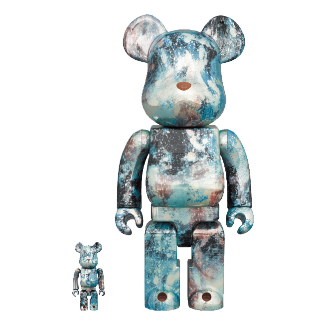 PUSHEAD-V5 X BE@RBRICK-400/100%  / MEDICOM TOY PLUS EXCLUSIVE