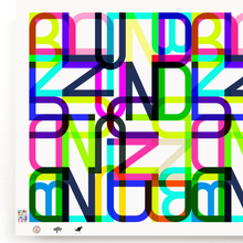 Load image into Gallery viewer, BLUNDLUND.CO.,LTD FINE ART PRINT - LETTERS  / LIMITED EDITION