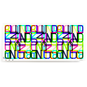 BLUNDLUND.CO.,LTD FINE ART PRINT - LETTERS  / LIMITED EDITION