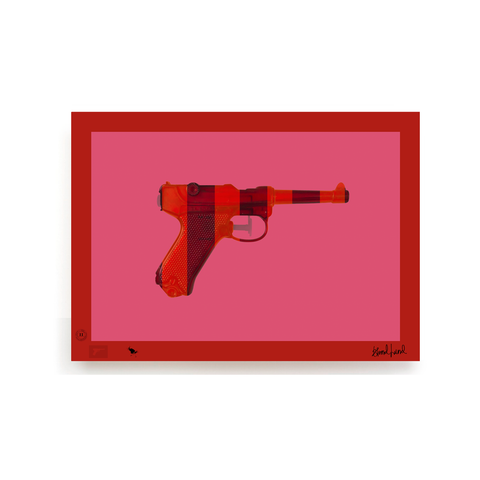 BLUNDLUND.CO.,LTD FINE ART PRINT - LUGER / LIMITED EDITION