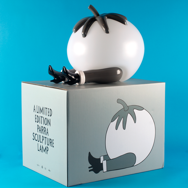 PIETER 'PARRA' JANSSEN GIVE UP TOMATO LAMP-MONOCHROME X CASE STUDYO
