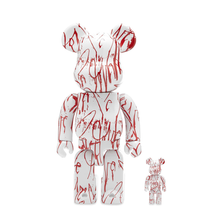 Load image into Gallery viewer, BE@RBRICK LOVE ME - SET 100/400% X CURTIS KULIG / MEDICOM TOY + EXCLUSIVE