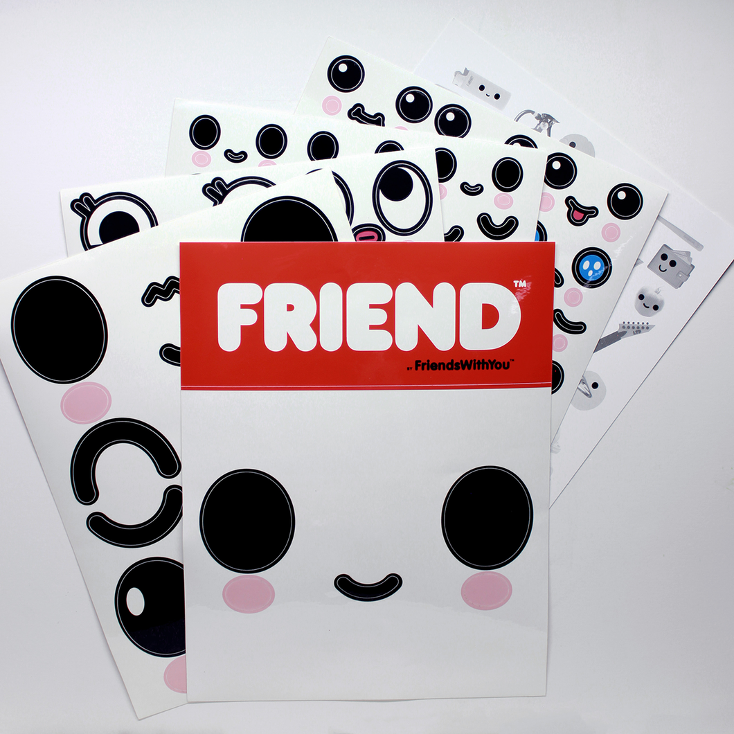 MAKEAFRIEND STICKERS - FRIENDSWITHYOU