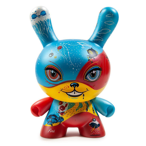 GOOD 4 NOTHING DUNNY ART FIGURE BY 64COLORS / KIDROBOT