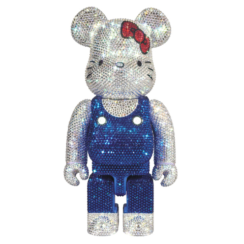 CRYSTAL HELLO KITTY BE@RBRICK 400% / MEDICOM TOY PLUS EXCLUSIVE