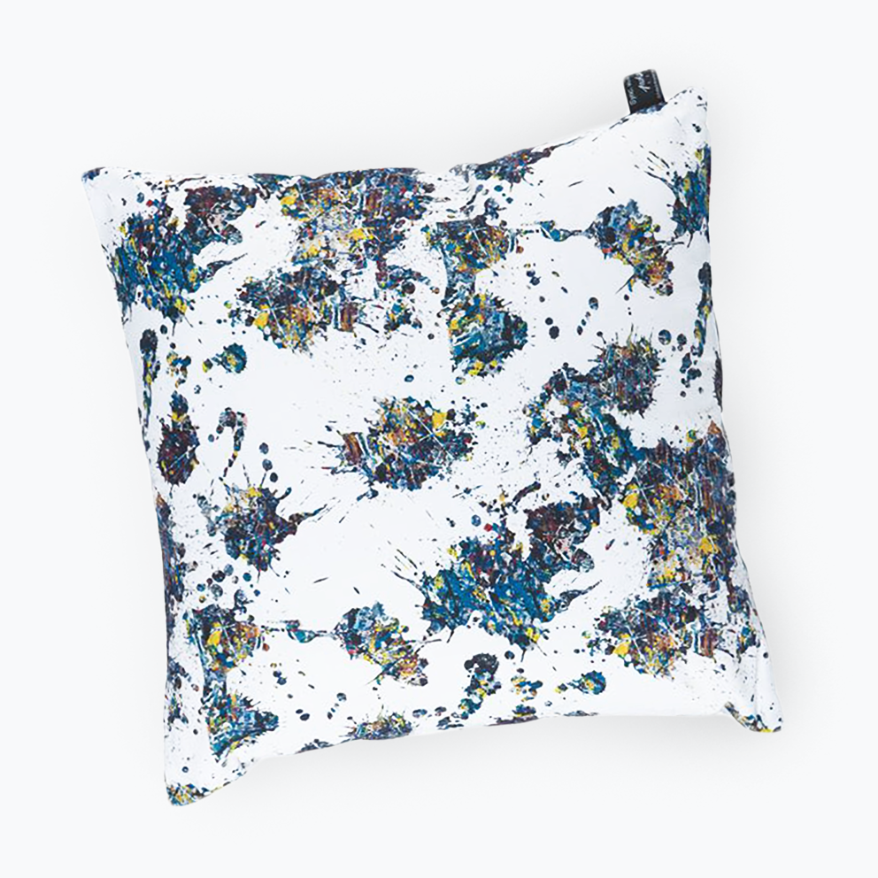 JACKSON POLLOCK - SPLASH X SQUARE CUSHION / SYNC