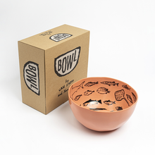 Load image into Gallery viewer, jean_jullien-case_studyo-bowls_orange-eye_shut_island-designshop_stockholm-2