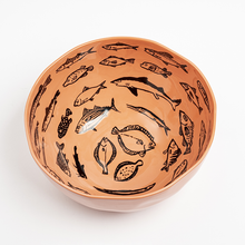 Load image into Gallery viewer, jean_jullien-case_studyo-bowls_orange-eye_shut_island-designshop_stockholm