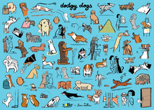 Load image into Gallery viewer, JEAN JULLIEN - JIGSAW PUZZLE X DODGY DOGST