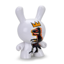 Load image into Gallery viewer, JEAN-MICHEL BASQUIAT MASTERPIECE PEZ DISPENSER 8-INCH DUNNY  / KIDROBOT