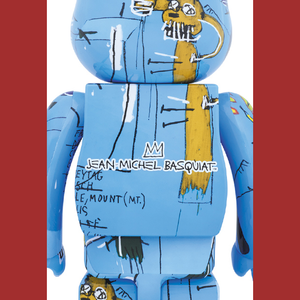 JEAN-MICHEL BASQUIAT #4 X BE@RBRICK 1000% BY MEDICOM TOY