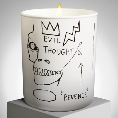 jean michel basquiat scented candle