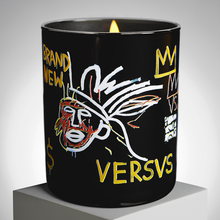 Load image into Gallery viewer, jean_michel_basquiat-scented_candle_versus-ligne_blanche-eye_shut_island-designshop_stockholm