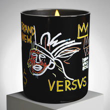 Load image into Gallery viewer, JEAN-MICHEL BASQUIAT - VERSUS  / ARTISANAL SCENTED CANDLE