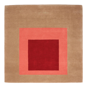 RUG / JOSEF ALBERS X CHRISTOPHER FARR - EQUIVOCAL 1962